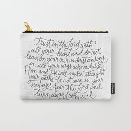 Straight Paths Carry-All Pouch