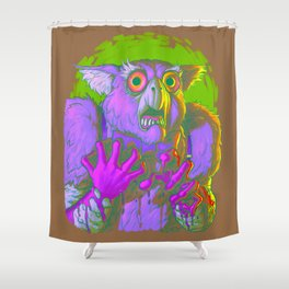 Death Is The Answer, For The Question Is I! Shower Curtain