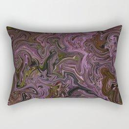 Oil and Strawberry Milk Rectangular Pillow