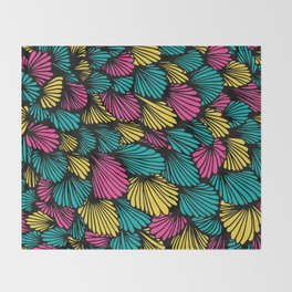 Happy abstract: Seaworld Nr:04 Throw Blanket