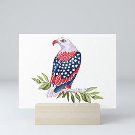USA Eagle Mini Art Print