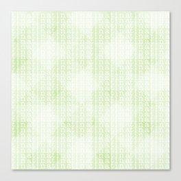 tina tina tina Canvas Print