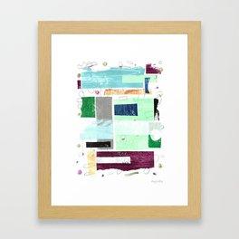 Above the Weather I Framed Art Print