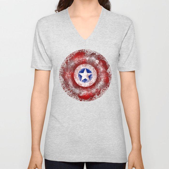 Avengers - Captain America Unisex V-Neck
