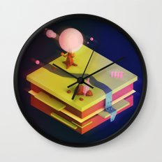 Earth Sandwich One, Variant D Wall Clock