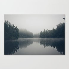 Lake + Fog Canvas Print