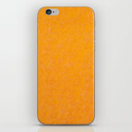 Yellow orange material texture abstract iPhone Skin