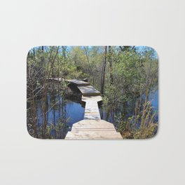 Crossing The Swamp Bath Mat