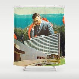Sad Shower Curtain