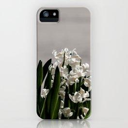 Hyacinth background iPhone Case