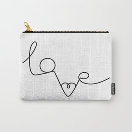 Woman & LoveMe Carry-All Pouch