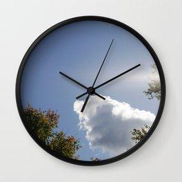 Orphan Cloud Wall Clock