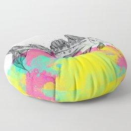 Fishtail Floor Pillow