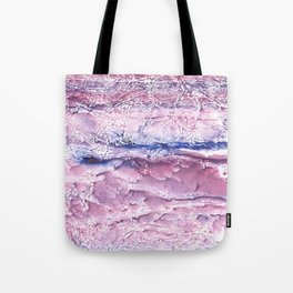 Plum marble abstract Tote Bag