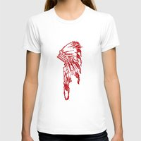 headdress T-shirts featuring Headdress by ttrostle