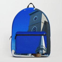 Coastal Curch in Tourelle Backpack