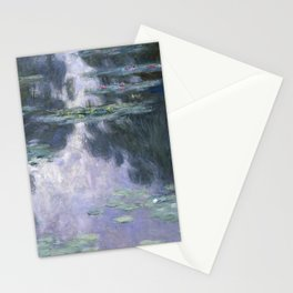 Monet, Water Lilies, Nympheas, 1907 Stationery Cards