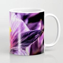 Charming Crocus Flower, Yellow Stigmas Coffee Mug