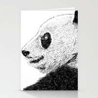 pandas Stationery Cards featuring pandas by barmalisiRTB