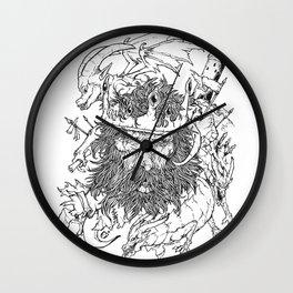 Old King Wall Clock