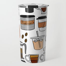 Coffee, Coffee Everywhere and All the Drops to Drink Travel Mug