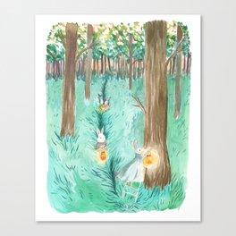 Twinkling Night Canvas Print