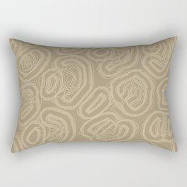 Burlap Rectangular Pillow