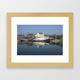 Trefusis GY242 at Glasson Dock Framed Art Print