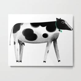 my lovely cow Metal Print