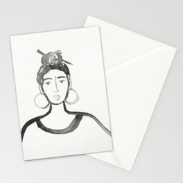 Hair Pin Stationery Cards
