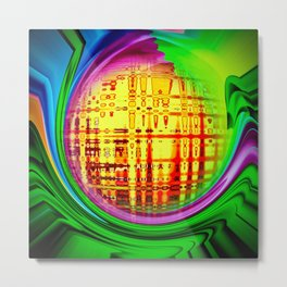 Abstract Perfection 30 Metal Print