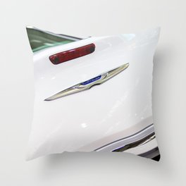 Chrysler 300C Back Light and Logo Throw Pillow