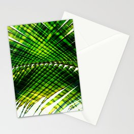 Palm Frond Strong [green] Stationery Cards