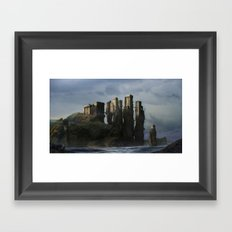 Sea Castle Framed Art Print
