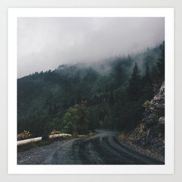 Mountain Rain | Cascade Supply Co. Art Print