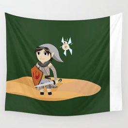 The Hero of Jakku Wall Tapestry