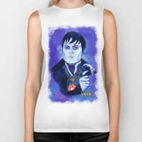 johnny depp Biker Tanks featuring Barnabas Collins - Johnny Depp by Jonboistars