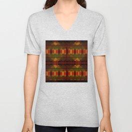 """""""Full Colors Tribal Pattern"""" Unisex V-Neck"""