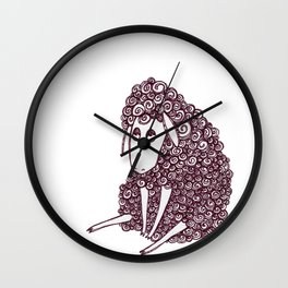 Sheepie Wall Clock