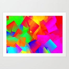Here comes the nice summertime ... Art Print