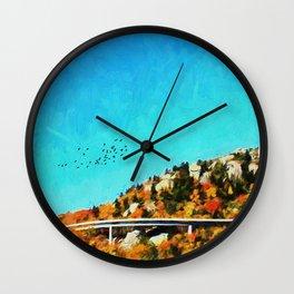 Linn Cove Viaduct Wall Clock