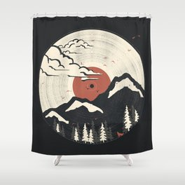 MTN LP... Shower Curtain