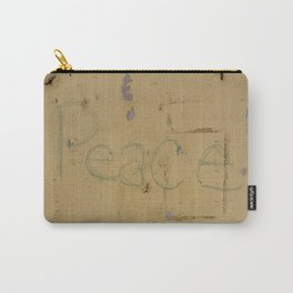Peace Grafitti Carry-All Pouch