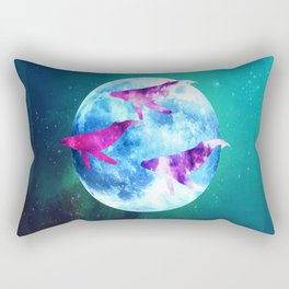 NOCTURNE : ASTRAL WHALES Rectangular Pillow