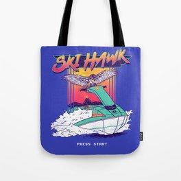 Ski Hawk Tote Bag