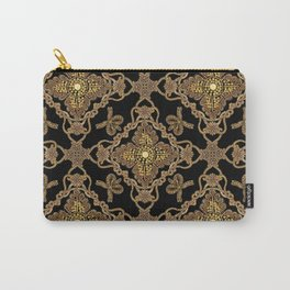 Beaded Baroque Carry-All Pouch