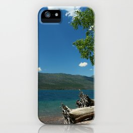 Serene McDonald Lake iPhone Case