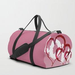 Triple Heart Love Duffle Bag
