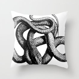 Snake   Snakes   Snake ball   Serpent   Slither   Reptile Throw Pillow