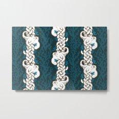 Cool Octopus Reef Metal Print